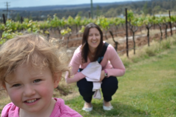 - One of the wineries we visited in the Hunter Valley, NSW -