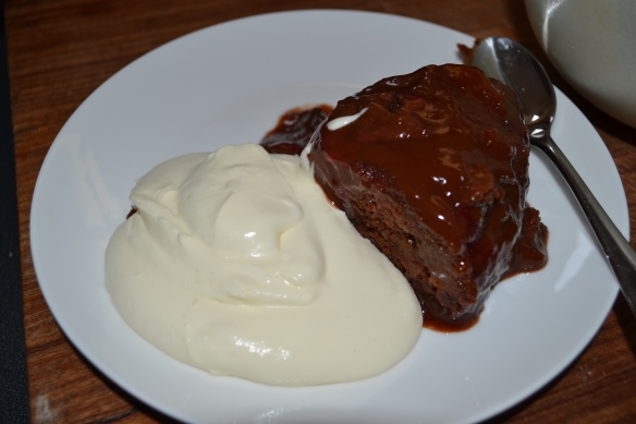 - We served it with whipped cream, which turned out to be a little OTT, but still YUM! -