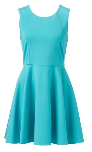 - Forever New Lunar Skater Dress in atlantic aqua ($79.99) -