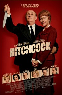 - Seeing 'Hitchcock' by myself and not realising it was Anthony Hopkins that played the lead -