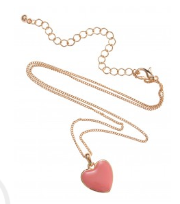 - I bought this cute little heart necklace from Colette...so cute. LINK -