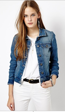- ASOS Vero Moda Denim Jacket $53.33 -