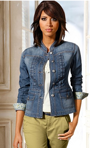 - Ezibuy Heine Denim Jacket $99.99 -