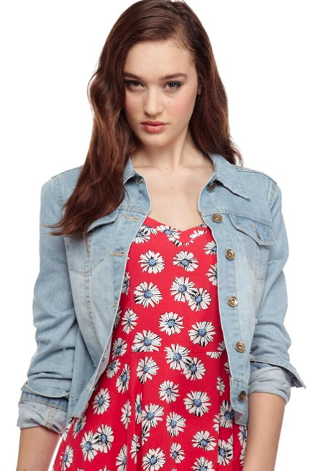 - Cotton On Devon Denim Jacket $49.95 -