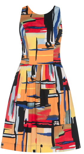- Cue Paint Box Print Dress $199 -